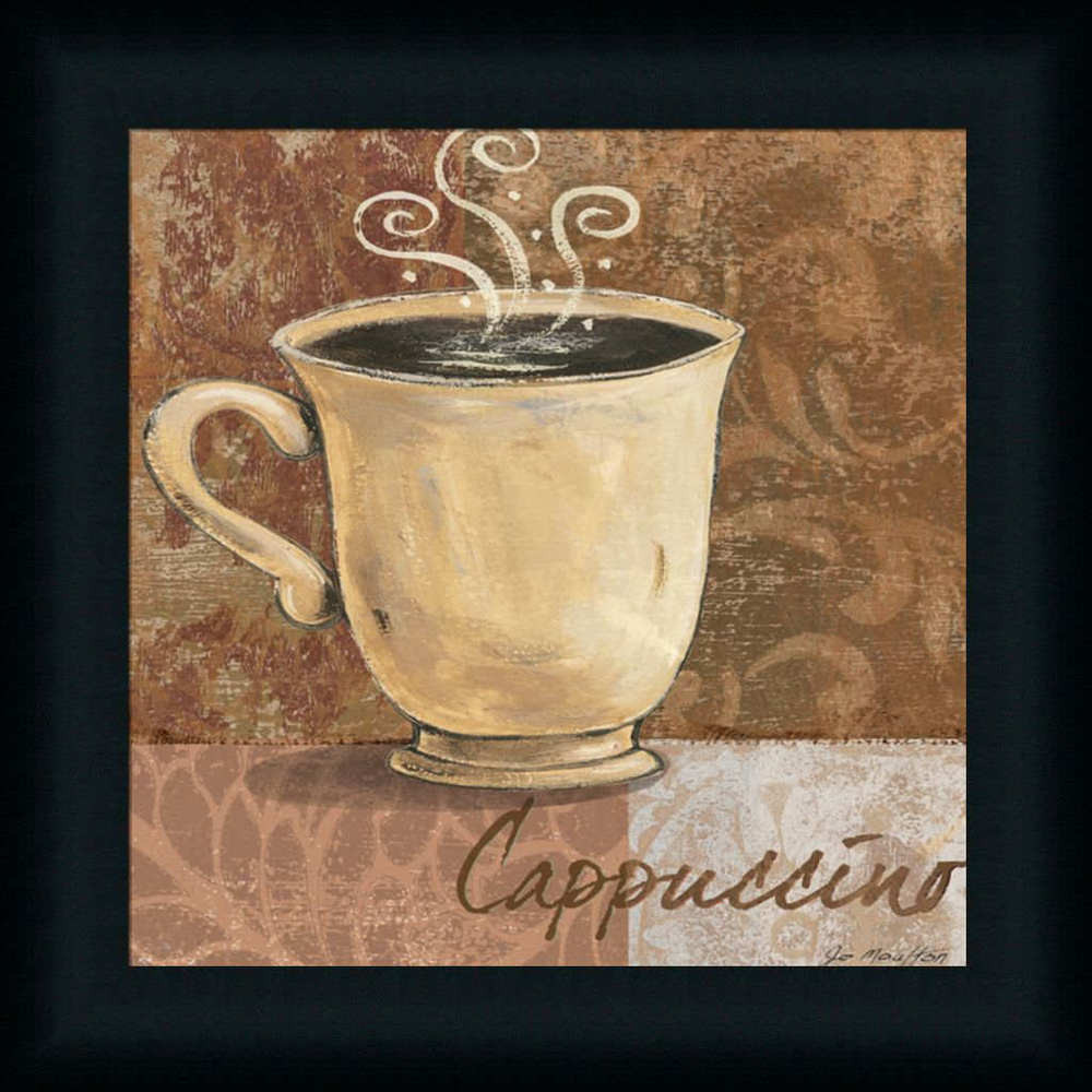 Best ideas about Cappuccino Kitchen Decor . Save or Pin Cappuccino by Jo Coffee Sign Kitchen Décor Framed Art Now.