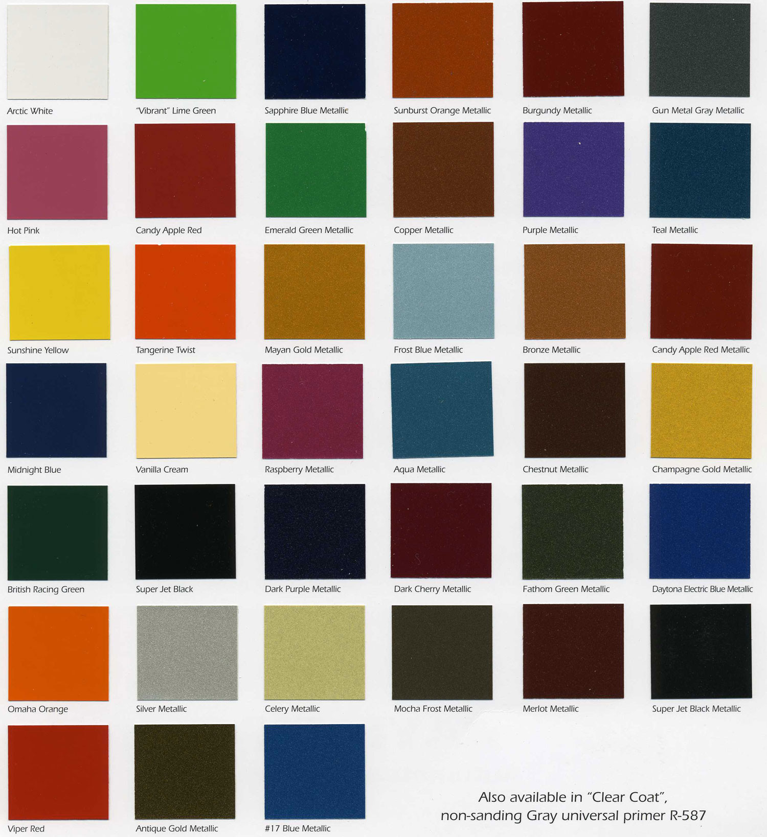Best ideas about Car Paint Colors . Save or Pin Starfire Automotive Finishes Color Chip Chart Now.