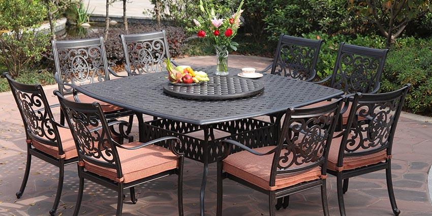 Best ideas about Cast Aluminum Patio Furniture . Save or Pin Cast Aluminum Green Cast Aluminum Patio Furniture Now.