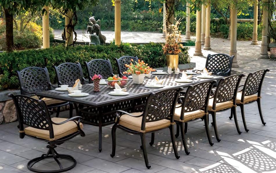 Best ideas about Cast Aluminum Patio Furniture . Save or Pin Cast Aluminum Vintage Cast Aluminum Outdoor Furniture Now.