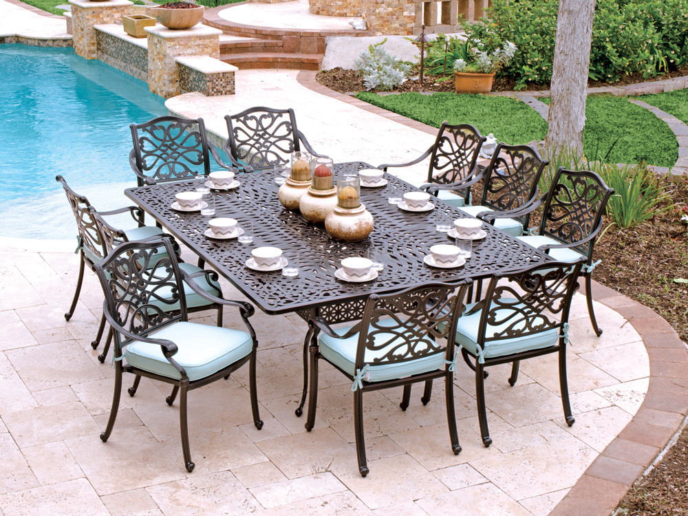 Best ideas about Cast Aluminum Patio Furniture . Save or Pin How To Take Care Cast Aluminum Patio Furniture — The Now.