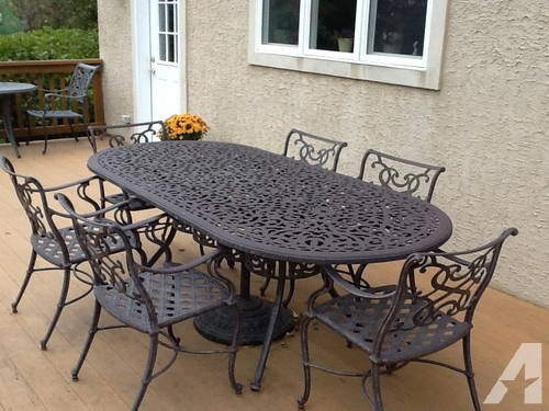 Best ideas about Cast Iron Patio Furniture . Save or Pin Outdoor Cast Iron patio furniture for Sale in Masonville Now.