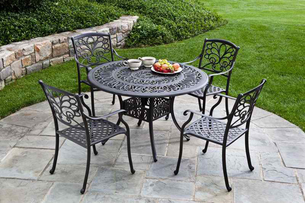 Best ideas about Cast Iron Patio Furniture . Save or Pin Cast Iron Patio Set Table Chairs Garden Furniture Now.
