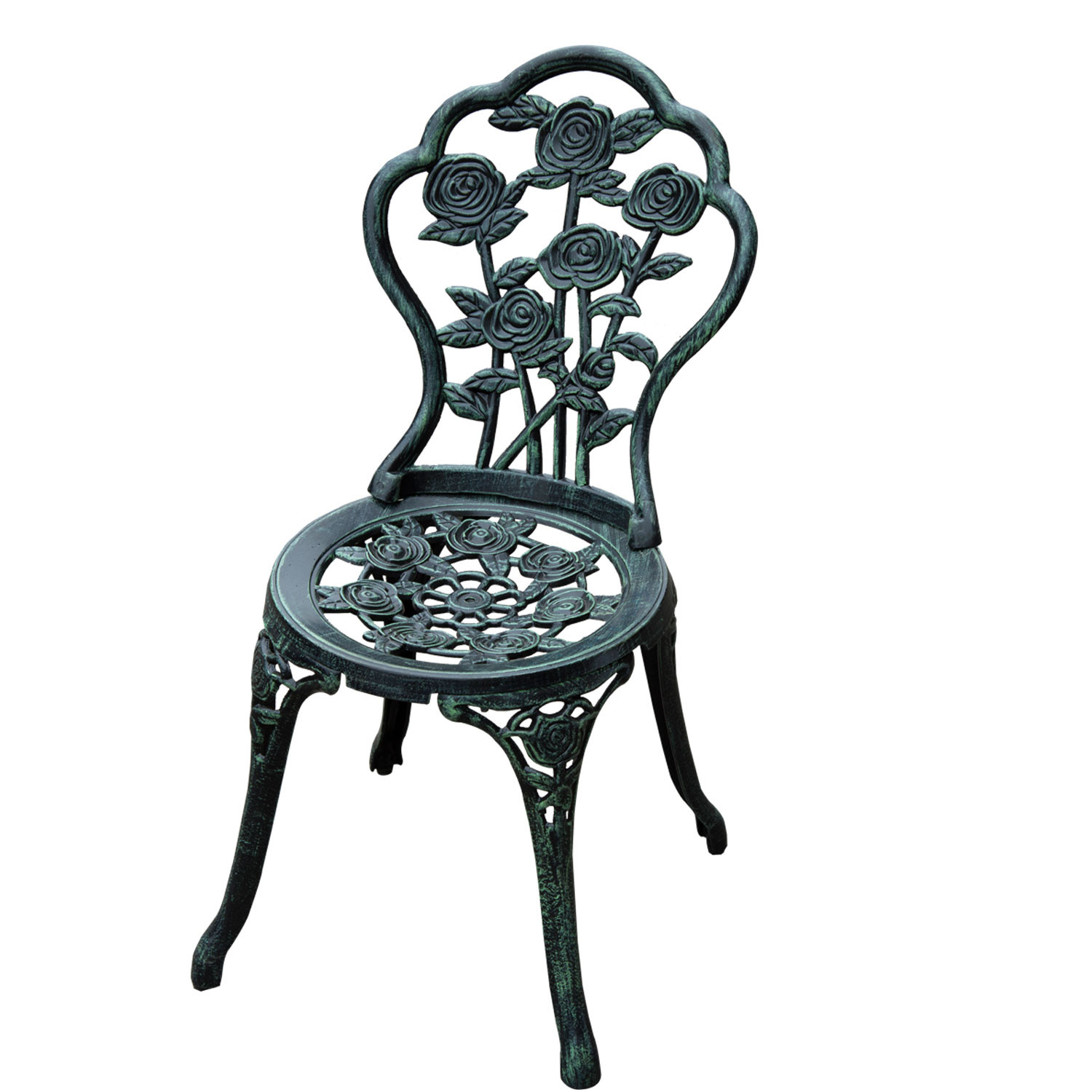 Best ideas about Cast Iron Patio Furniture . Save or Pin Aosom LLC Outsunny 3 Piece Outdoor Cast Iron Patio Now.