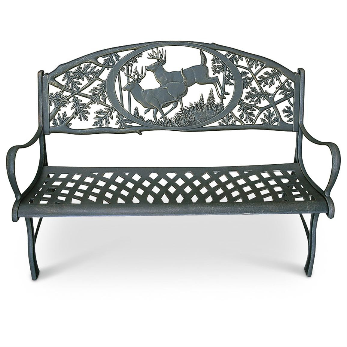 Best ideas about Cast Iron Patio Furniture . Save or Pin Cast Iron Outdoor Bench Patio Furniture at Now.