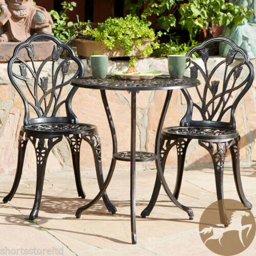 Best ideas about Cast Iron Patio Furniture . Save or Pin Cast Iron Bistro Patio Set Outdoor Table Chairs Furniture Now.