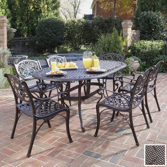 Best ideas about Cast Iron Patio Furniture . Save or Pin 30 Unique Cast Iron Patio Dining Sets pixelmari Now.