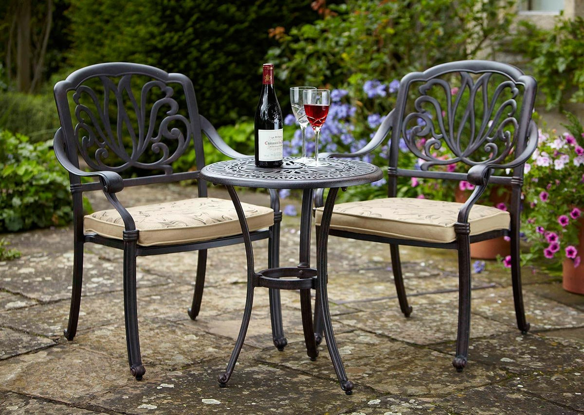 Best ideas about Cast Iron Patio Furniture . Save or Pin Cast Iron Bistro Patio Furniture Beautiful Outdoor Table Now.
