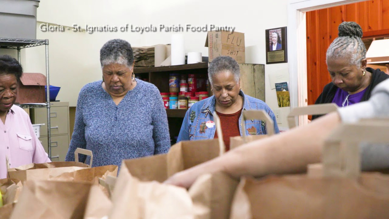 Best ideas about Catholic Charities Food Pantry . Save or Pin 2018 Catholic Charities Appeal St Ignatius Food Pantry Now.