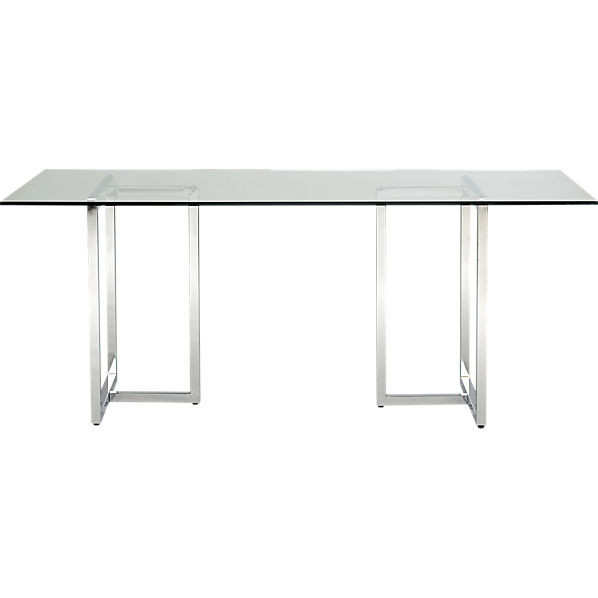 Best ideas about Cb2 Dining Table . Save or Pin silverado rectangular dining table Now.