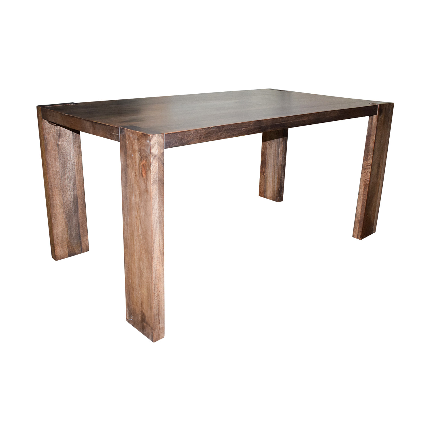 Best ideas about Cb2 Dining Table . Save or Pin OFF CB2 CB2 Rustic Wood Dining Table Tables Now.