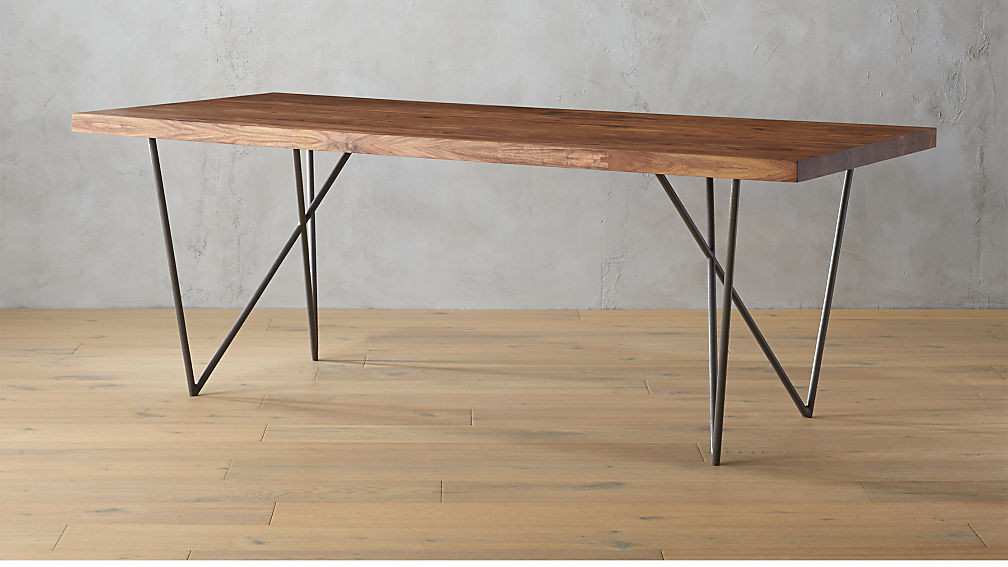 Best ideas about Cb2 Dining Table . Save or Pin dylan 36x80 sheesham wood dining table Now.