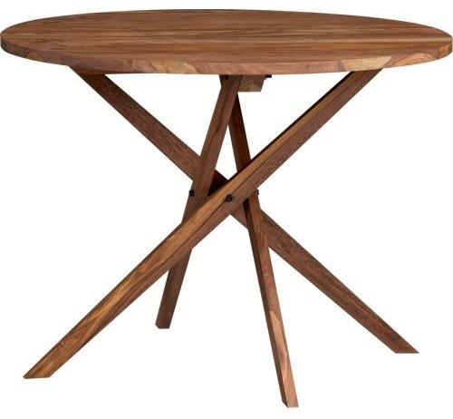 Best ideas about Cb2 Dining Table . Save or Pin Twist Bistro Table Modern Indoor Pub And Bistro Sets Now.