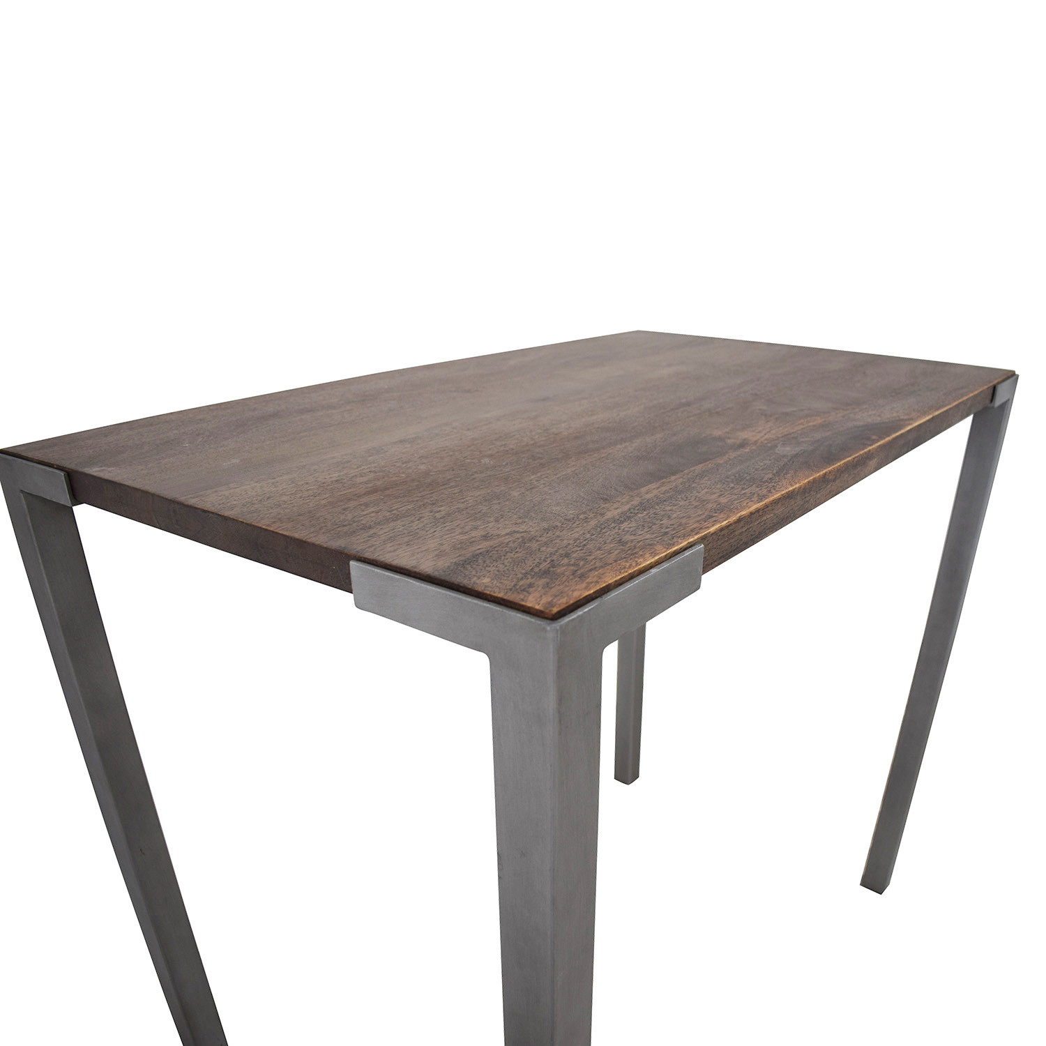 Best ideas about Cb2 Dining Table . Save or Pin OFF CB2 CB2 Rustic Wood Stilt High Dining Table Tables Now.