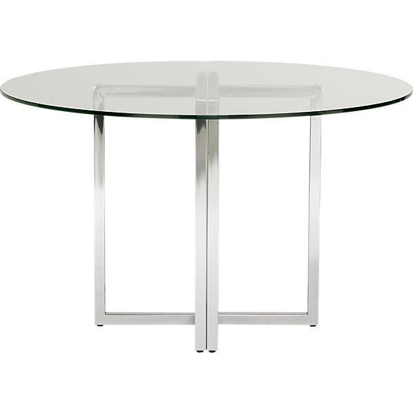 Best ideas about Cb2 Dining Table . Save or Pin silverado round dining table CB2 Now.