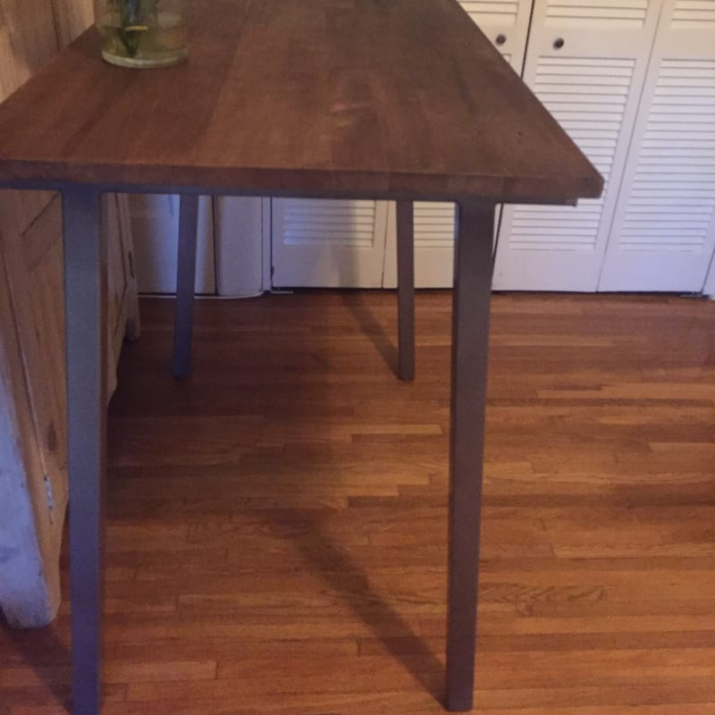 """Best ideas about Cb2 Dining Table . Save or Pin Cb2 stilt high dining table 42"""" $250 for sale in Los Now."""