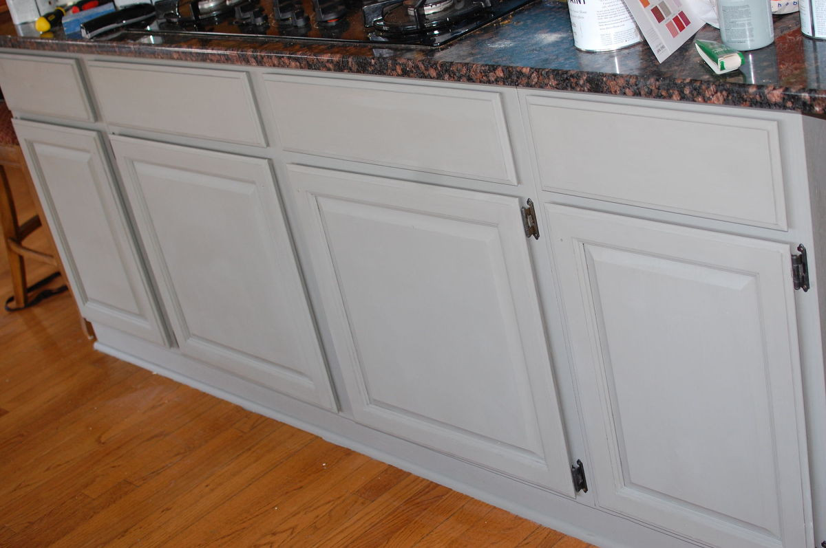 Best ideas about Chalk Paint Cabinets DIY . Save or Pin DIY Chalk Paint Kitchen Cabinet Makeover Now.