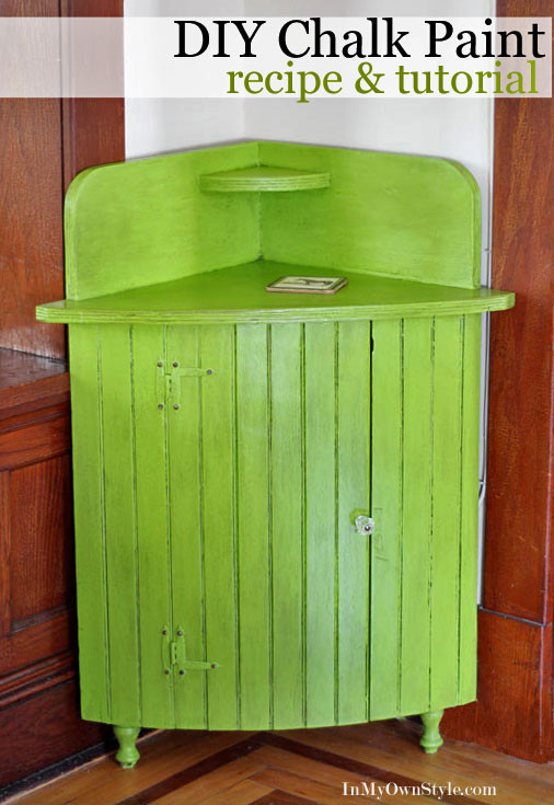 Best ideas about Chalk Paint Cabinets DIY . Save or Pin How To Make and Paint With DIY Chalk Paint In My Own Style Now.