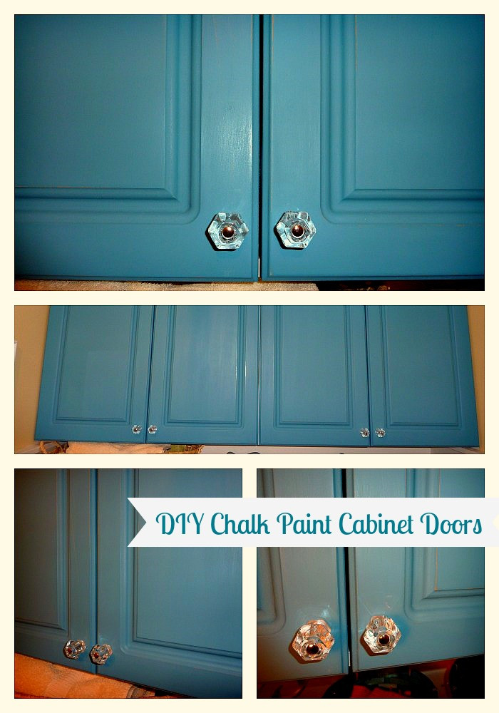 Best ideas about Chalk Paint Cabinets DIY . Save or Pin DIY Chalk Painted Doors The Love Affair Continues The Now.