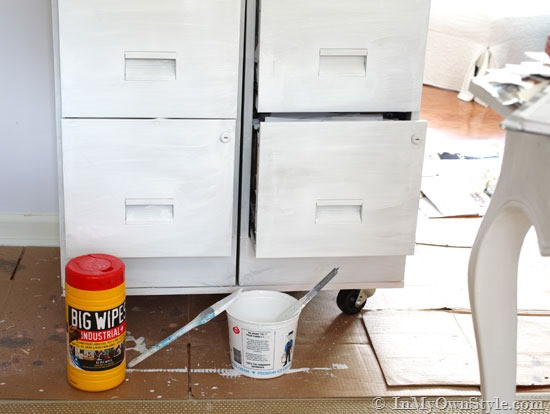 Best ideas about Chalk Paint Cabinets DIY . Save or Pin File Cabinet Makeover Now.