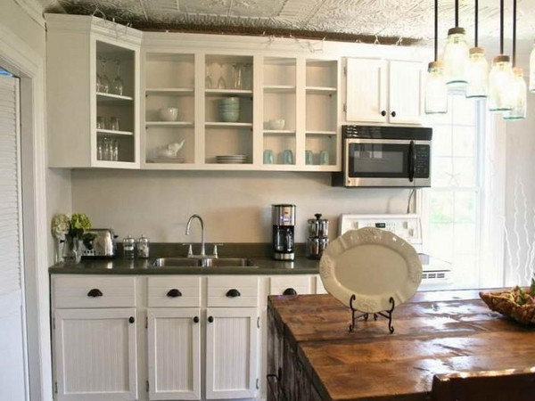 Best ideas about Chalk Paint Cabinets DIY . Save or Pin Chalk paint kitchen cabinets – creative kitchen makeover ideas Now.