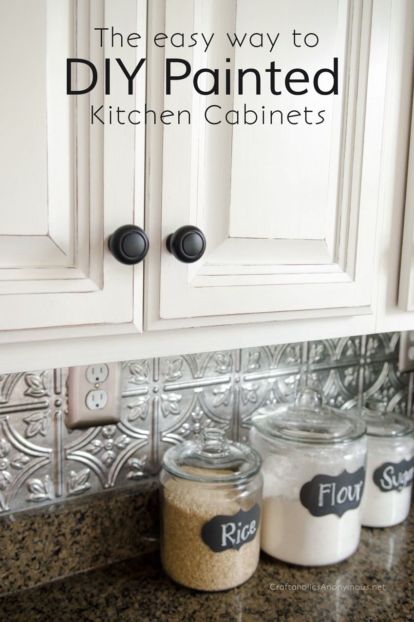 Best ideas about Chalk Paint Cabinets DIY . Save or Pin Craftaholics Anonymous Now.