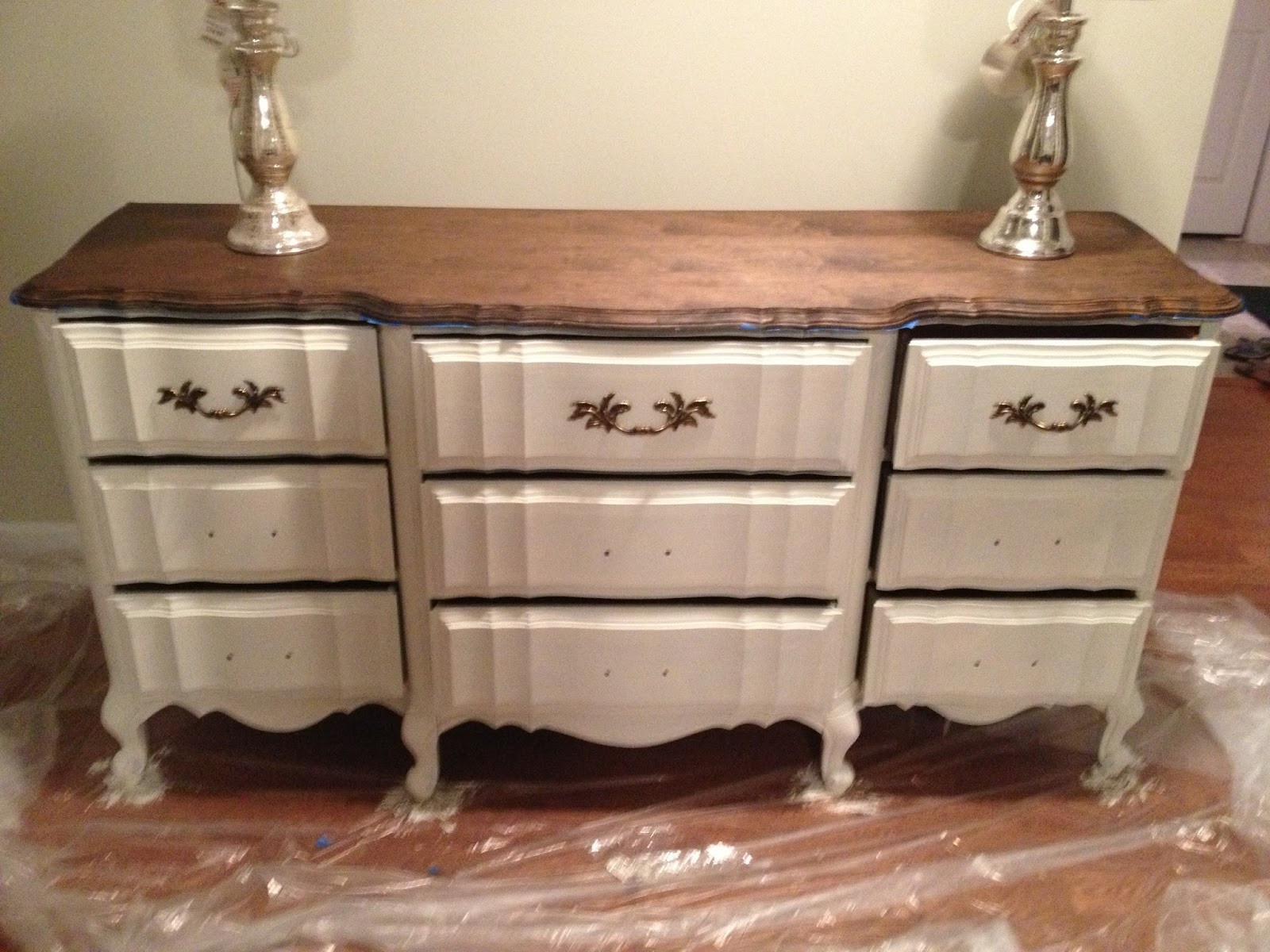 Best ideas about Chalk Paint Colors For Furniture . Save or Pin Chalk Paint Dresser Redo Part 1 Home Sweet Ruby Now.