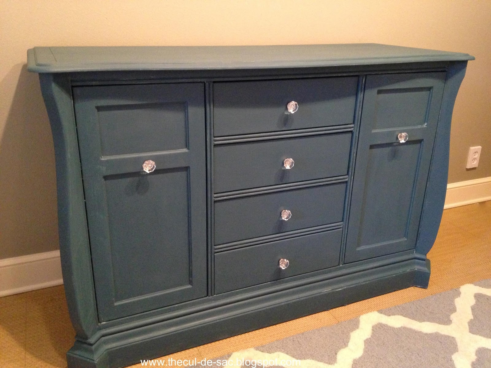 Best ideas about Chalk Paint Colors For Furniture . Save or Pin the cul de sac Chalk Paint Makeover From Changing Table Now.