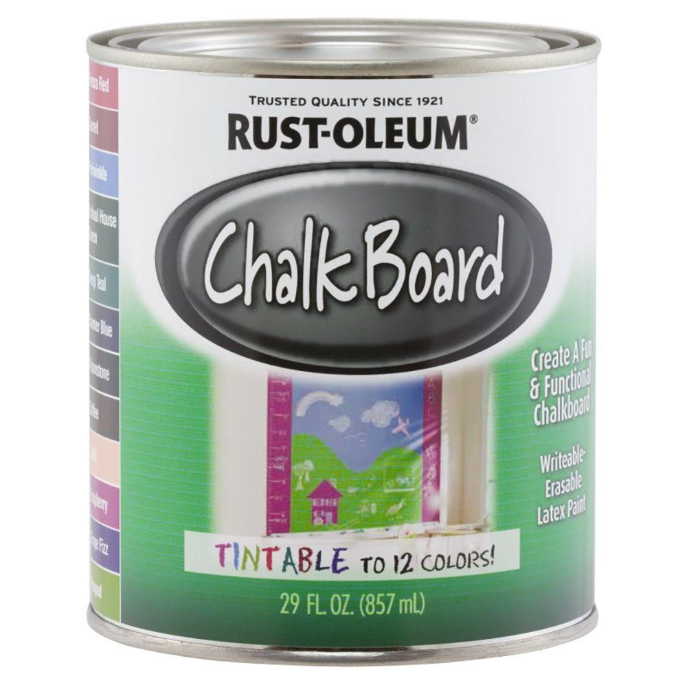 Best ideas about Chalkboard Paint Colors . Save or Pin Rust Oleum Specialty 29 oz Tintable Chalkboard Paint Now.