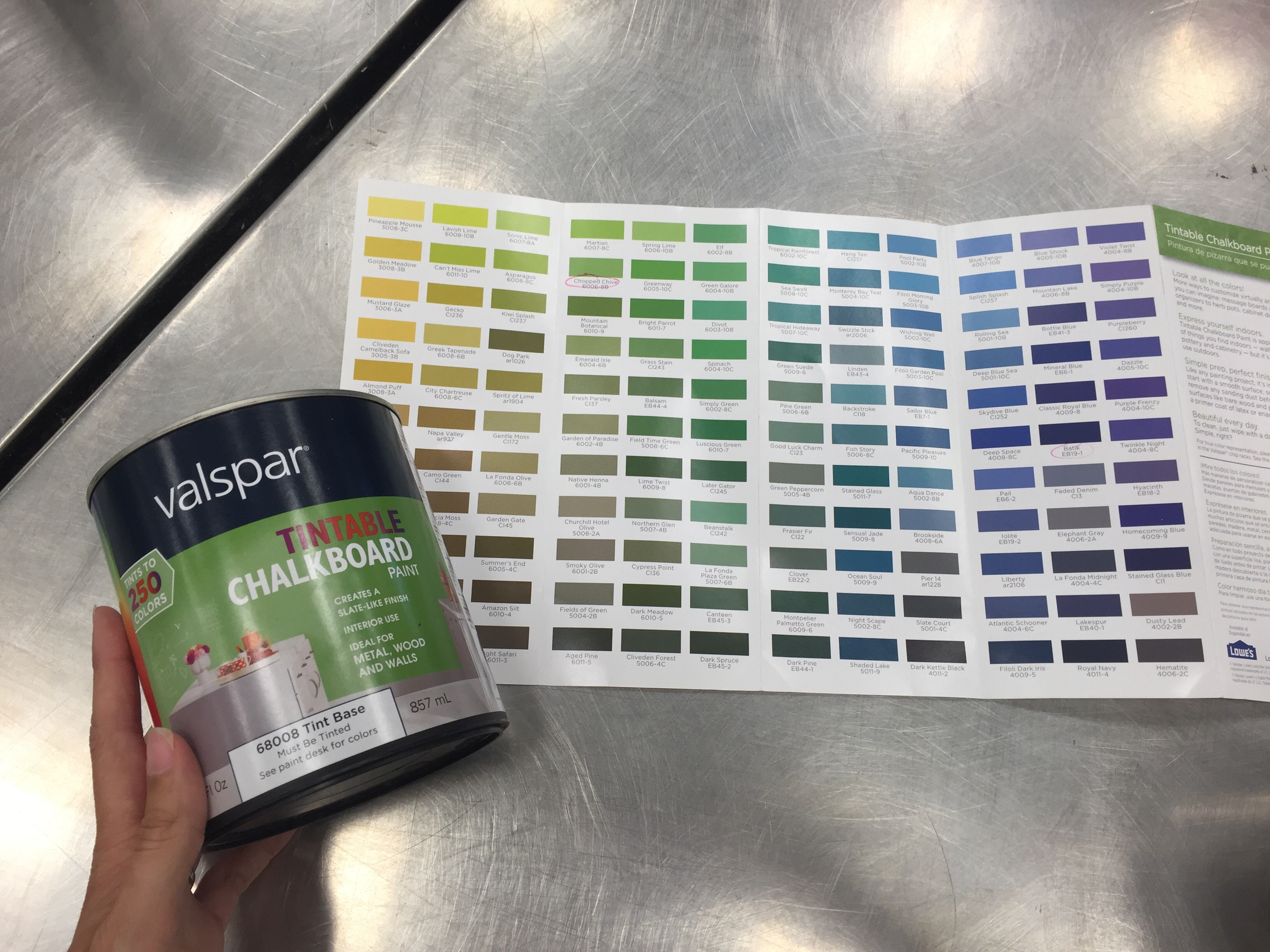 Best ideas about Chalkboard Paint Colors . Save or Pin Chalkboard Paint Circ Desk & Word Cloud – Mighty Little Now.