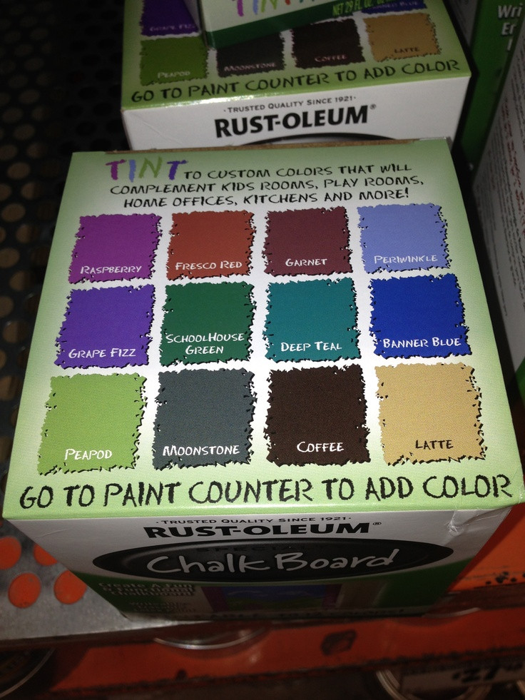 Best ideas about Chalkboard Paint Colors . Save or Pin Chalkboard Paint Colors Now.
