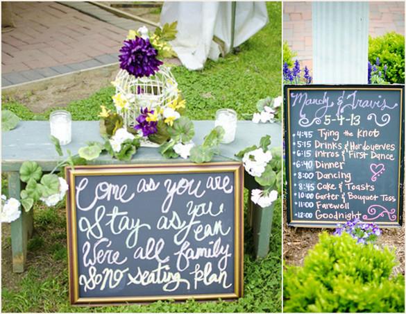 Best ideas about Chalkboard Wedding Signs DIY . Save or Pin DIY Chalkboard Wedding SignsDIY Chalkboard Wedding Signs Now.