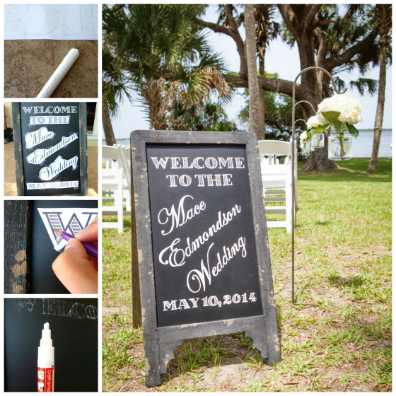 Best ideas about Chalkboard Wedding Signs DIY . Save or Pin DIY Chalkboard Writing Now.