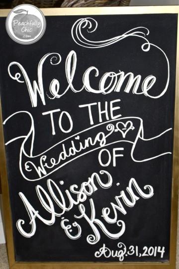 Best ideas about Chalkboard Wedding Signs DIY . Save or Pin DIY Wedding Chalkboard Signs Now.
