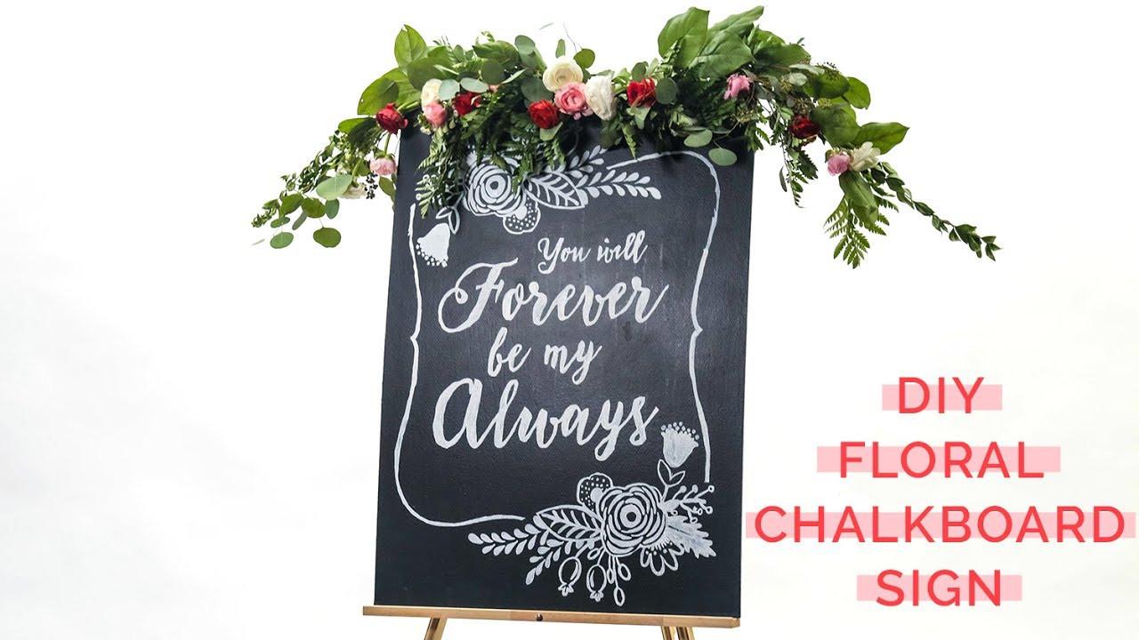 Best ideas about Chalkboard Wedding Signs DIY . Save or Pin DIY Rustic Chalkboard Wedding Signs Now.