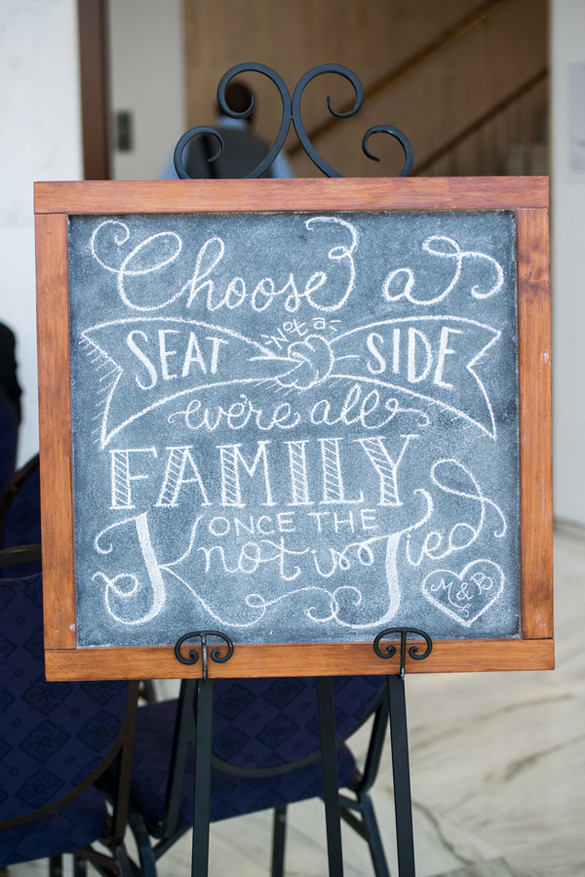 Best ideas about Chalkboard Wedding Signs DIY . Save or Pin Pink and Coral Bud Friendly Modern WeddingTruly Now.