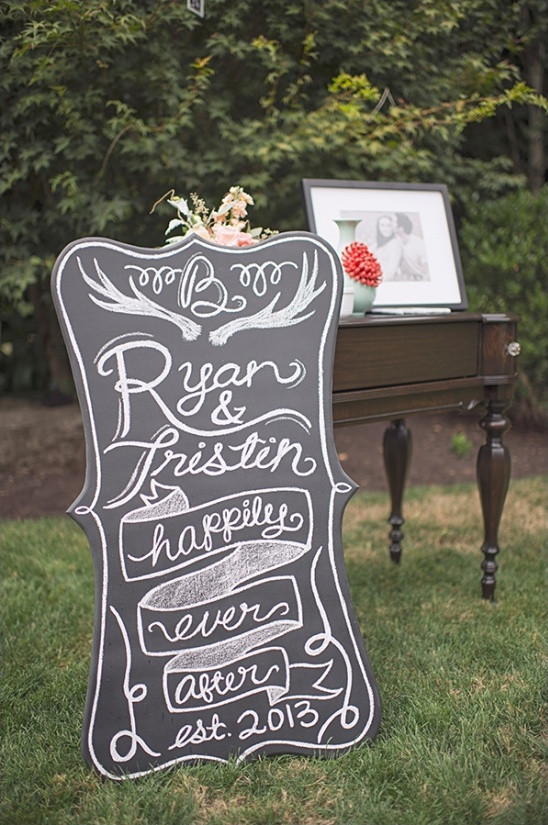 Best ideas about Chalkboard Wedding Signs DIY . Save or Pin Blog A Chalkboard Sign Wedding Now.