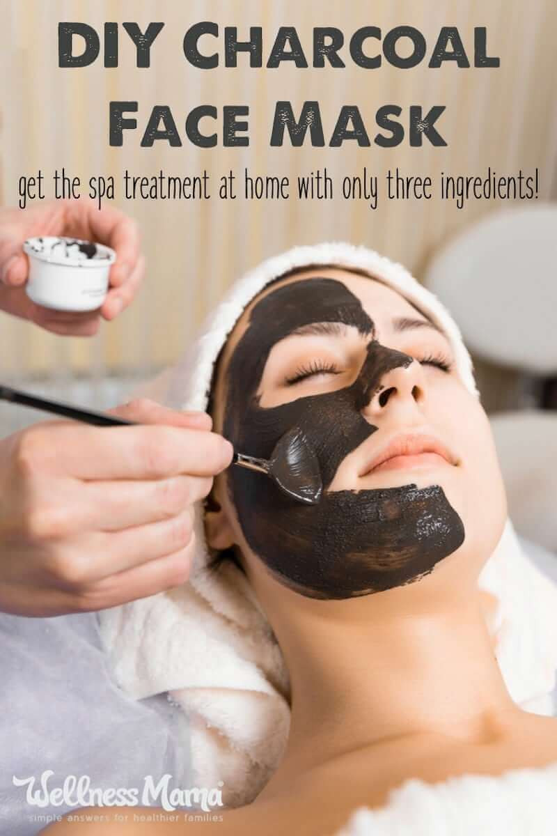 Best ideas about Charcoal Mask DIY Ingredients . Save or Pin DIY Charcoal Face Mask Recipe ly 3 Ingre nts Now.