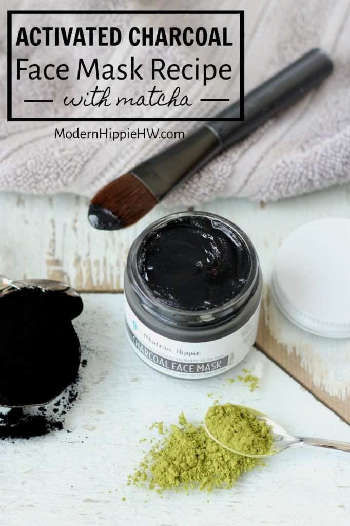 Best ideas about Charcoal Mask DIY Ingredients . Save or Pin Activated Charcoal Face Mask Recipe with Matcha and Clay Now.