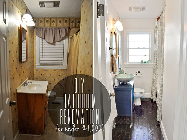 Best ideas about Cheap Bathroom Remodel DIY . Save or Pin DIY Bud Bathroom Renovation Reveal Now.