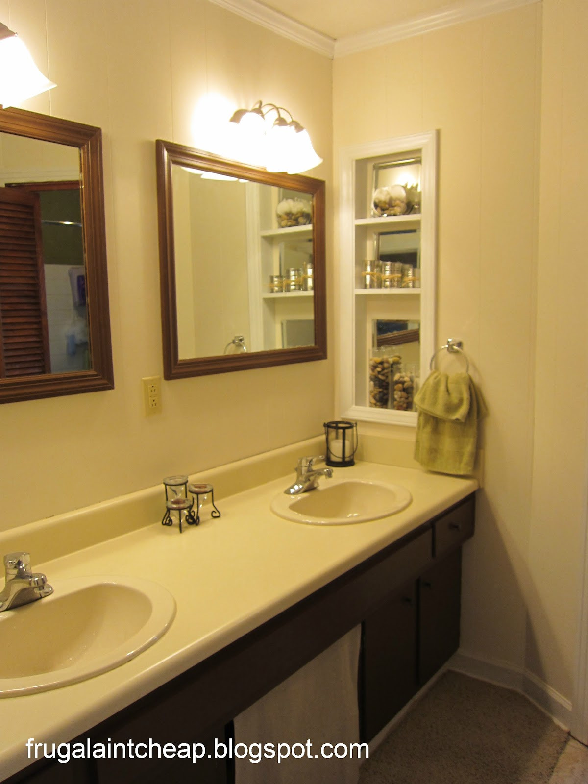 Best ideas about Cheap Bathroom Remodel DIY . Save or Pin Frugal Ain t Cheap Bathroom remodel From 1966 to 2012 Now.