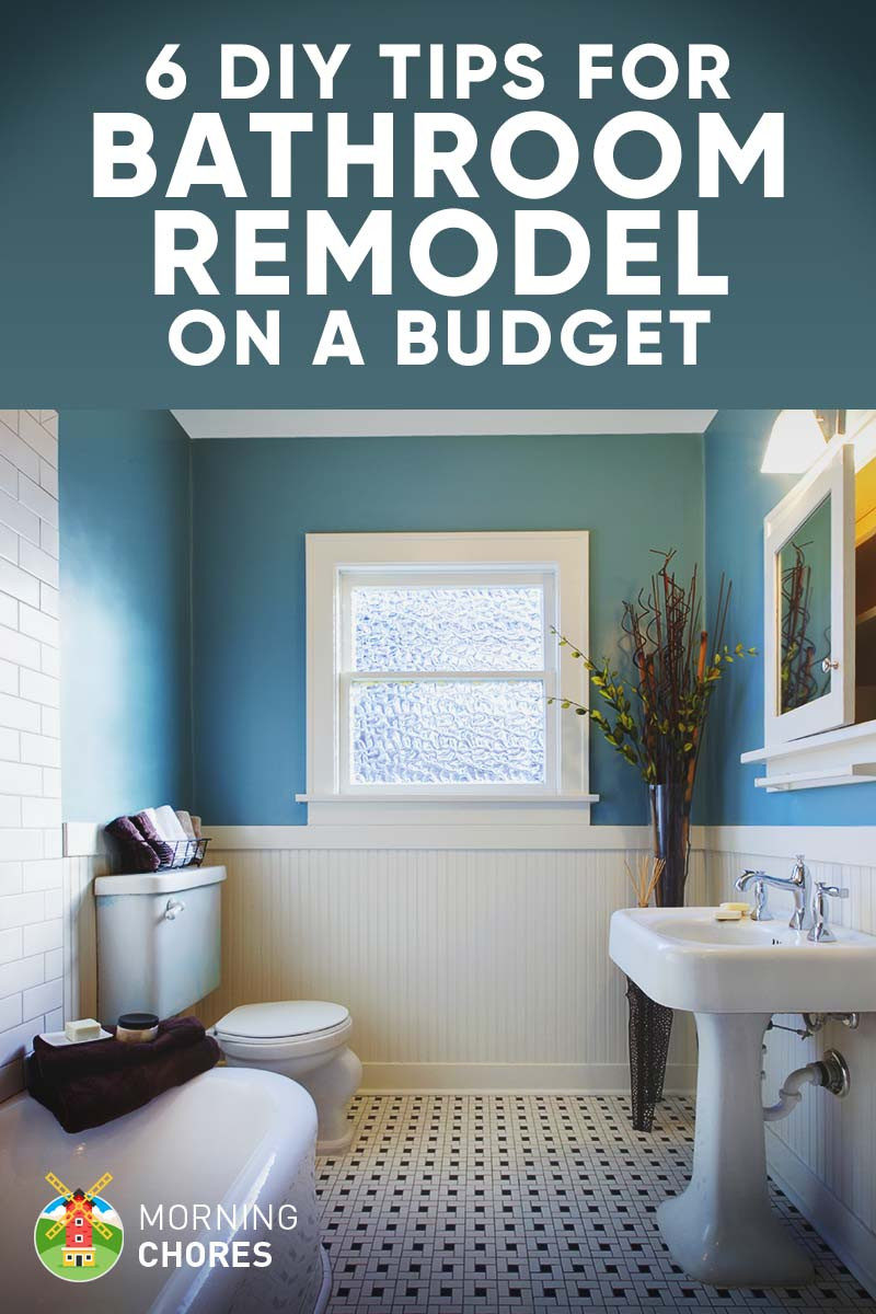 Best ideas about Cheap Bathroom Remodel DIY . Save or Pin 9 Tips for DIY Bathroom Remodel on a Bud and 6 Décor Now.