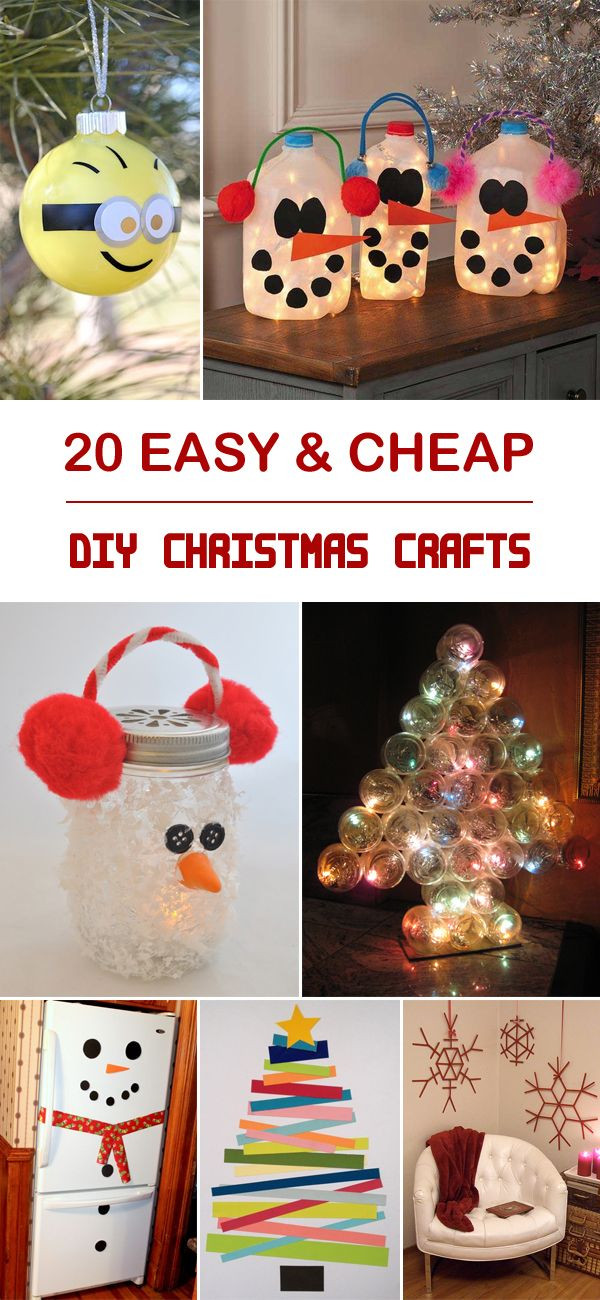 Best ideas about Cheap Christmas Crafts . Save or Pin 1000 ideas about Cheap Christmas Crafts on Pinterest Now.
