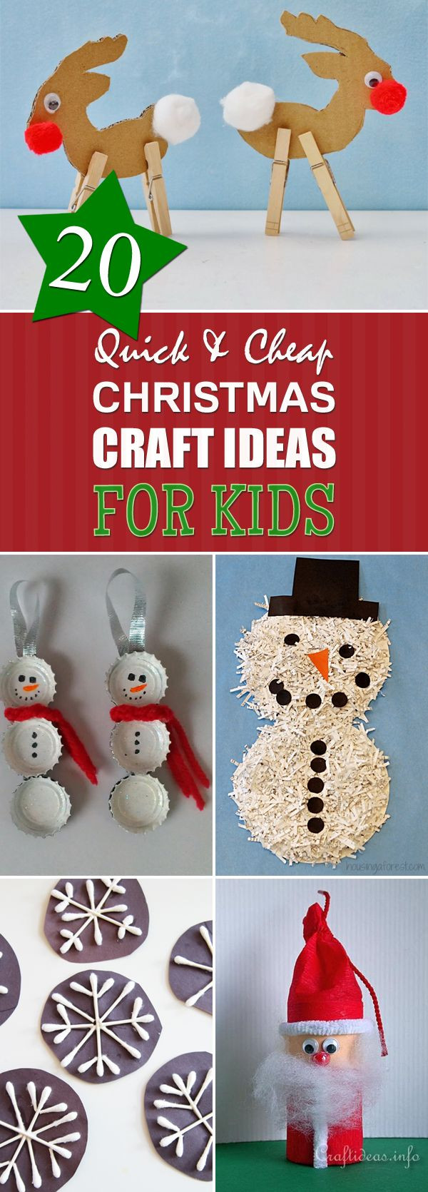 Best ideas about Cheap Christmas Crafts . Save or Pin Best 25 Cheap christmas crafts ideas on Pinterest Now.