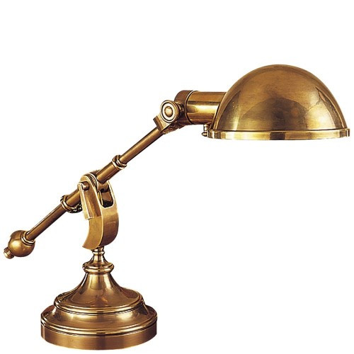 Best ideas about Cheap Desk Lamps . Save or Pin Cheap Hightower Antique Brass Desk Lamp Antique Lamp Now.