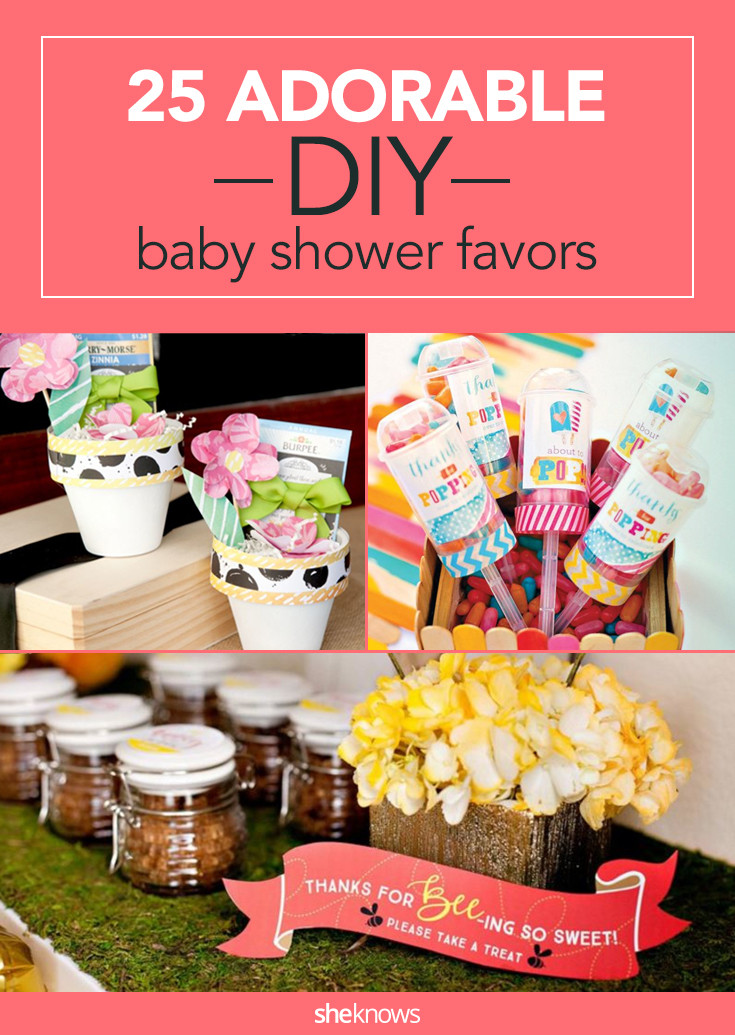 Best ideas about Cheap DIY Baby Shower Favors . Save or Pin 26 Adorable DIY Baby Shower Favors That Are so Much Better Now.