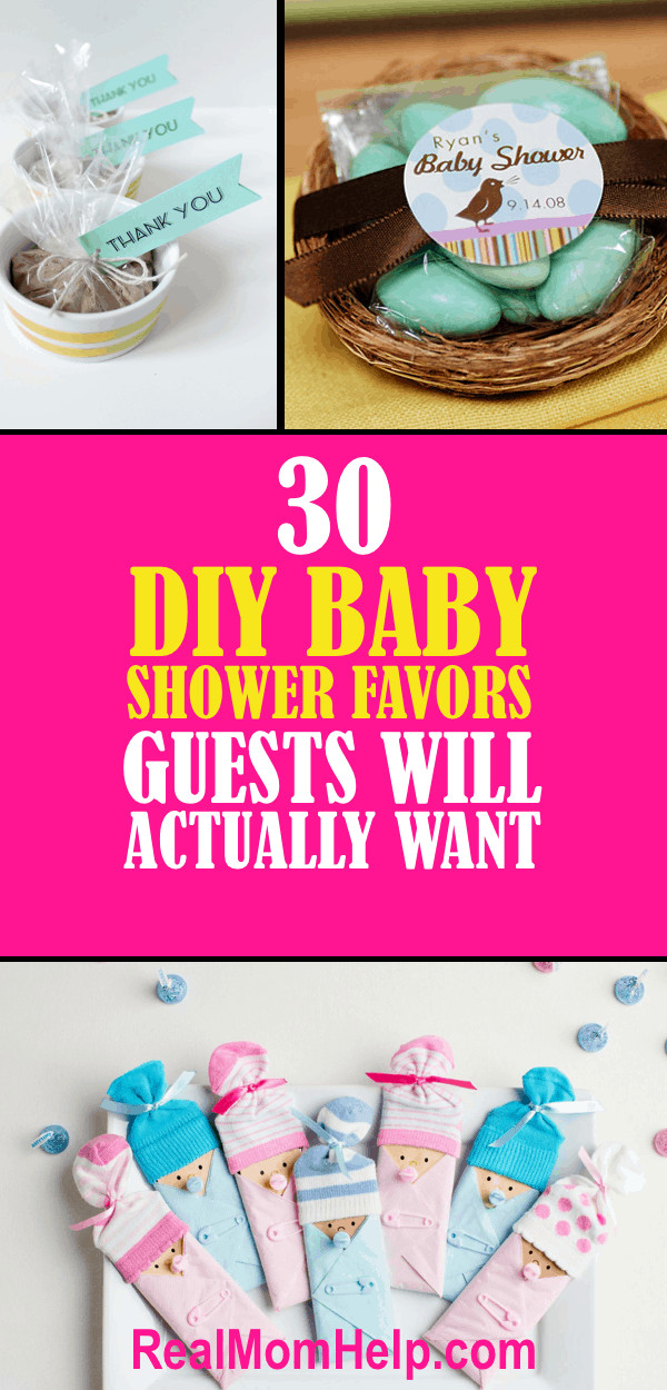 Best ideas about Cheap DIY Baby Shower Favors . Save or Pin 30 DIY Baby Shower Favors Guests Will Actually Want Now.
