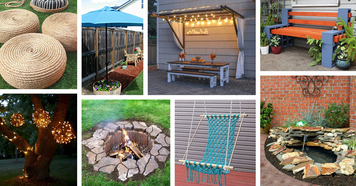 Best ideas about Cheap DIY Backyard Ideas . Save or Pin 42 Best DIY Backyard Projects Ideas and Designs for 2019 Now.