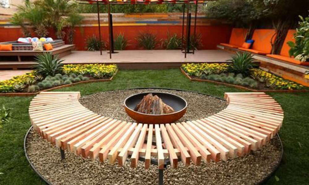 Best ideas about Cheap DIY Backyard Ideas . Save or Pin 28 Backyard Seating Ideas Now.