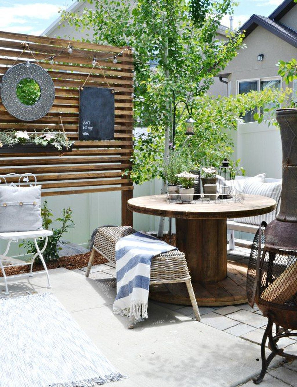 Best ideas about Cheap DIY Backyard Ideas . Save or Pin 20 DIY Patio Ideas Low Bud – decoratioon Now.